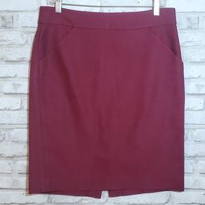 JCrew *the pencil skirt* POCKETS!